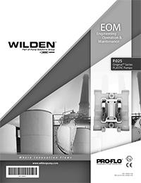 Wilden P.025 Plastic EOM