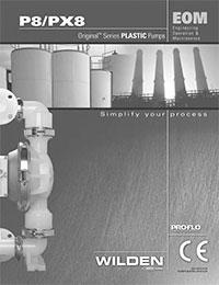 Wilden P8 Plastic EOM