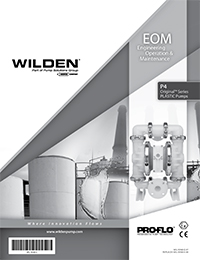 Wilden P4 Plastic EOM