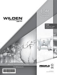 Wilden P200 Plastic EOM